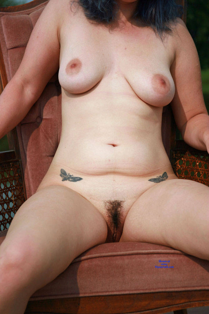 Pic #7 On The Dock - Nude Girls, Big Tits, Outdoors, Bush Or Hairy, Amateur, Tattoos
