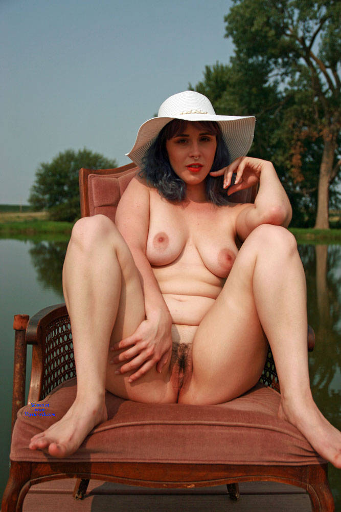Pic #10 On The Dock - Nude Girls, Big Tits, Outdoors, Bush Or Hairy, Amateur, Tattoos
