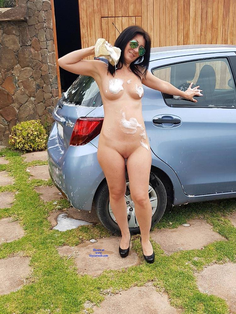 Naked carwash