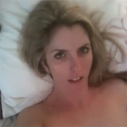 Bitch Wakes Then Fingers Her Cunt - Nude Girls, Blonde, Small Tits, Bush Or Hairy, Close-Ups, Amateur