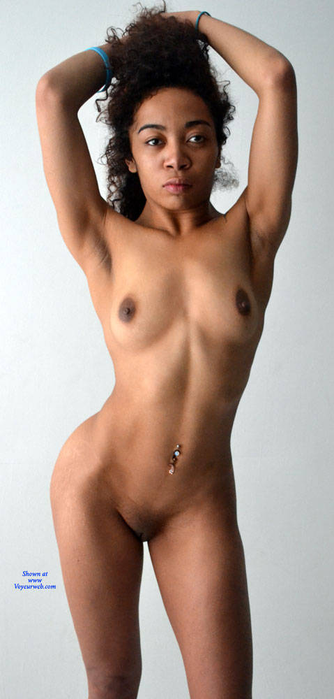 Pic #5 Enjoy My Body! - Nude Girls, Brunette, Shaved, Amateur