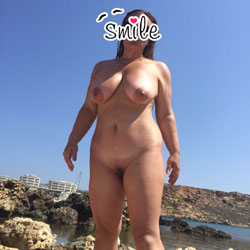 Beach - Nude Girls, Beach, Big Tits, Outdoors, Shaved, Amateur