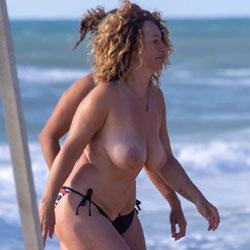 The Big Boobs Manic Is Back - Topless Girls, Beach, Big Tits, Outdoors, Beach Voyeur