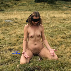 Submissive In The Mountains - Nude Girls, Nature, Mature, Outdoors, Shaved, Amateur
