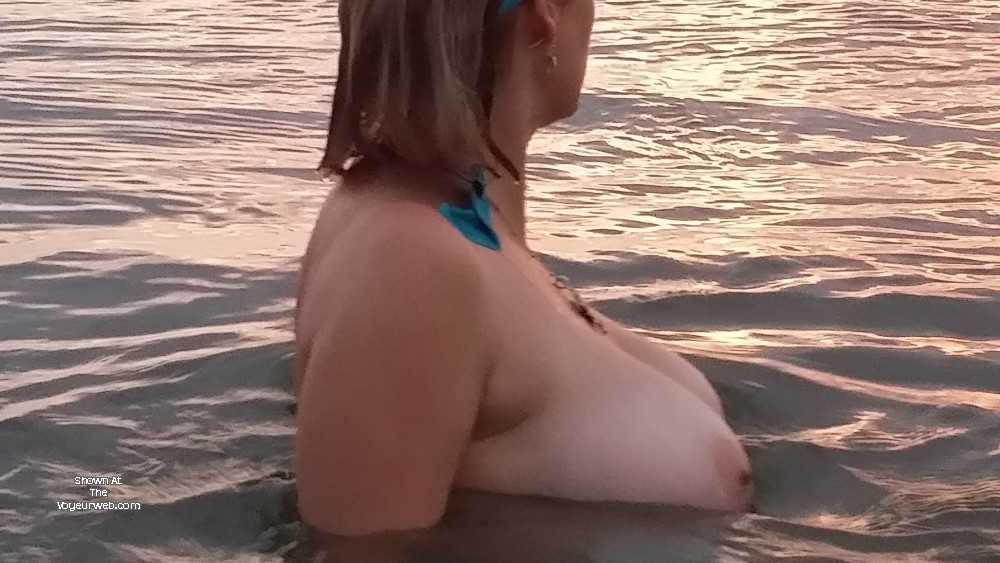 Pic #1 Very large tits of my wife - Lovestobenaked