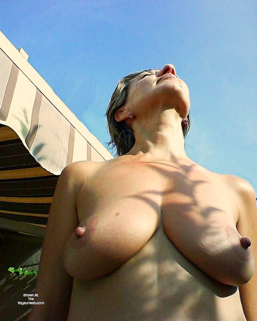 Pic #1 Large tits of my girlfriend - Juana