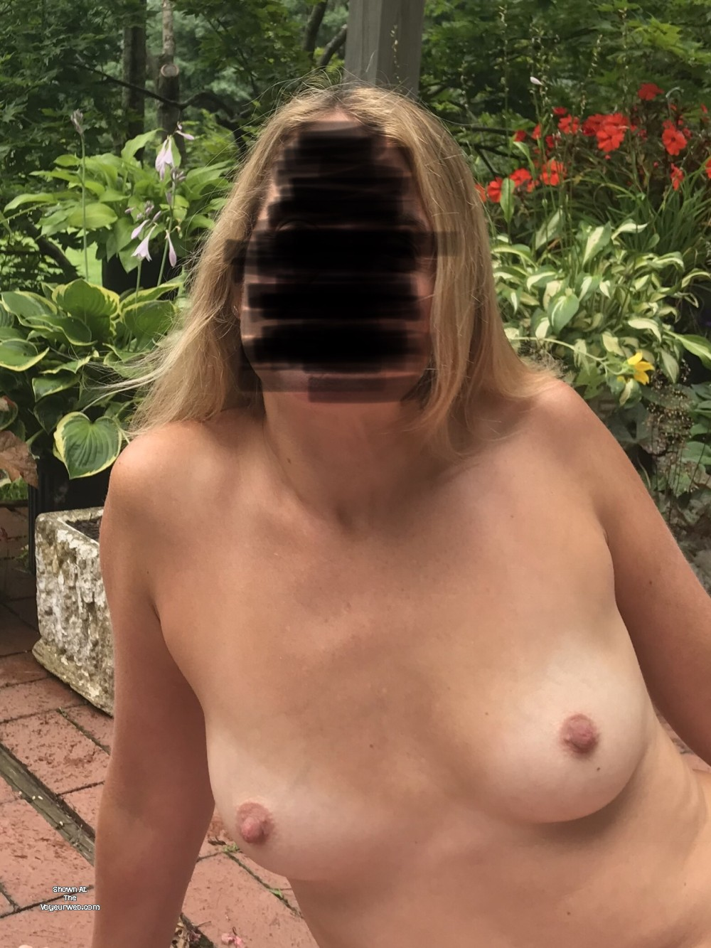 Pic #1 Small tits of my wife - Kelly