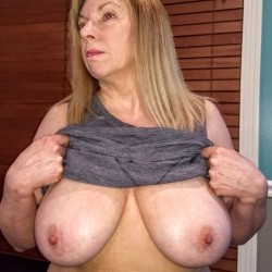 Large tits of my wife - 32ddd