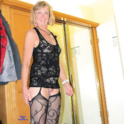 Chrissi Is A Hotelslut - Lingerie, See Through, Amateur, Mature, European And/or Ethnic