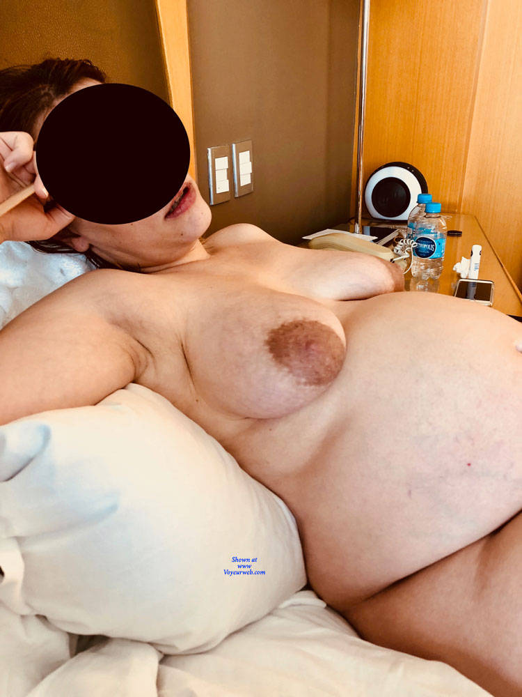 Pic #4 8 Months Pregnant Wife - II - Nude Wives, Big Tits, Amateur