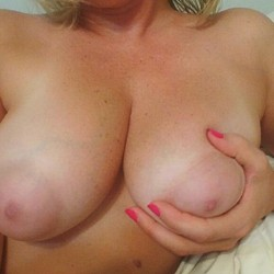 Large tits of a neighbor - Cheney