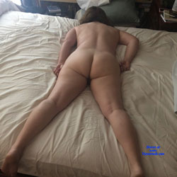 Worn Out Ass After Lov'n From Behind - Nude Amateurs, Brunette, Mature