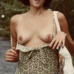 Medium tits of my girlfriend - Wilma