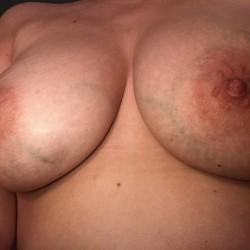 Large tits of my wife - BandA
