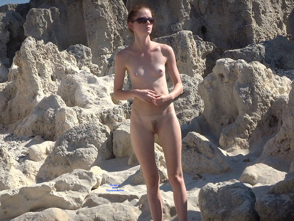 Pic #3 Last From Twins - Nude Girls, Beach, Outdoors, Small Tits, Bush Or Hairy, Beach Voyeur