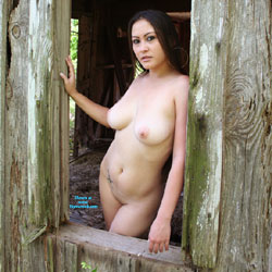 Super Hot In The Window - Big Tits, Brunette Hair, Full Nude, Heels, Nipples, Nude Outdoors, Shaved Pussy, Hot Girl, Naked Girl, Sexy Body, Sexy Boobs, Sexy Face, Sexy Girl, Sexy Legs