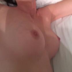 Medium tits of my wife - Constance