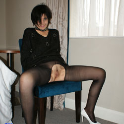 Hot Pussy In Stockings - Flashing Tits, Flashing, No Panties, Stockings, Trimmed Pussy, Hot Girl, Pussy Flash, Sexy Face, Sexy Girl, Sexy Legs
