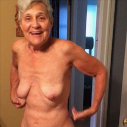 Amateur mature nude granny think, that