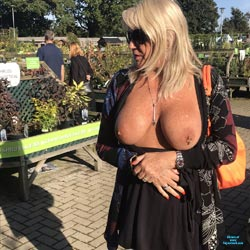 Dirty Slut Sue - Big Tits, Blonde, Public Exhibitionist, Flashing, Outdoors, Public Place, Amateur