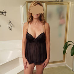New Black Teddy - Wives In Lingerie, Big Tits, Bush Or Hairy, Amateur