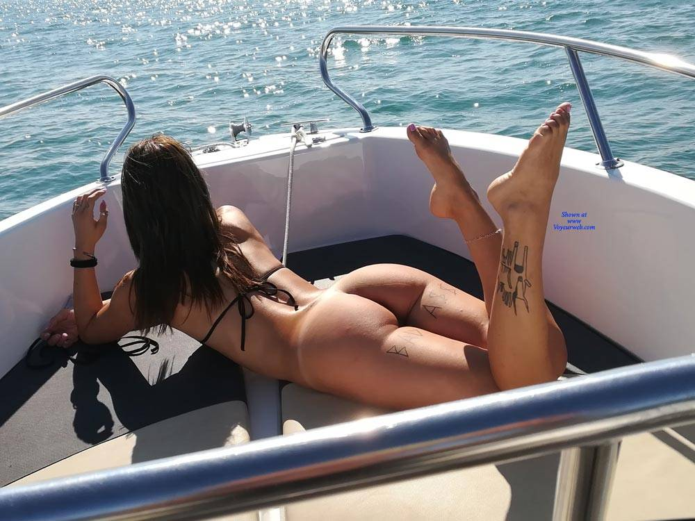 Topless on the boat