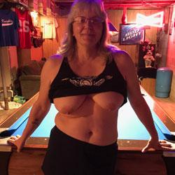 Pool Table Fun - Big Tits, Blonde, Mature, Amateur