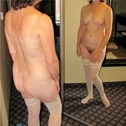 Mature Wife Hotel Poses - Nude Wives, Brunette, Lingerie, Mature, Bush Or Hairy, Amateur, Stockings Pics