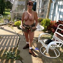 Construction Helper 2 - Big Tits, Blowjob, Mature, Outdoors, Redhead, Amateur