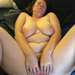 Bush And Pussy Request - Nude Wives, Big Tits, Bush Or Hairy, Amateur, legs spread wide open