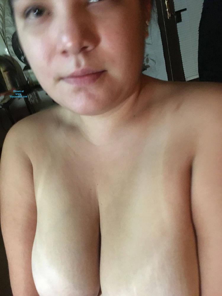 Pic #6 Sexy Girlfriend - Big Tits, Brunette, Amateur, Gf