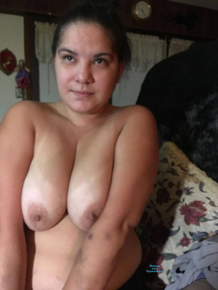 Pic #8 Sexy Girlfriend 2 - Big Tits, Brunette, Lingerie, Amateur, Gf
