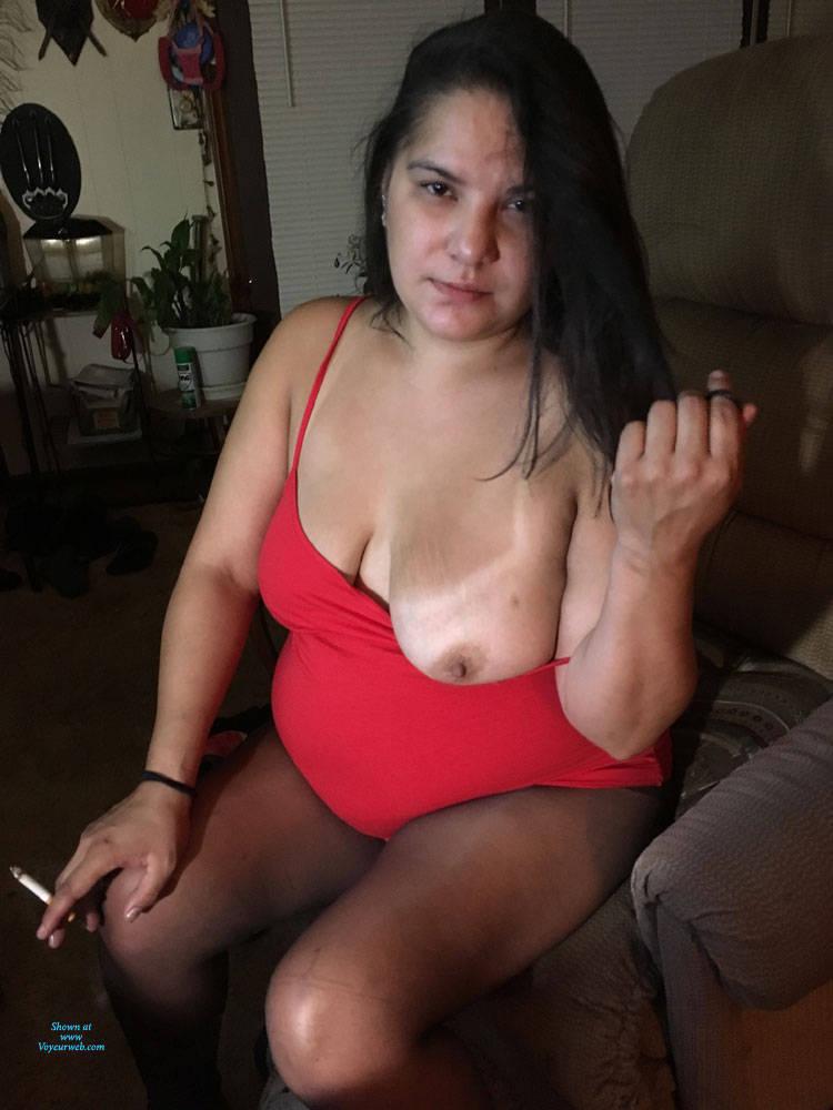 Pic #2 Sexy Girlfriend 2 - Big Tits, Brunette, Lingerie, Amateur, Gf