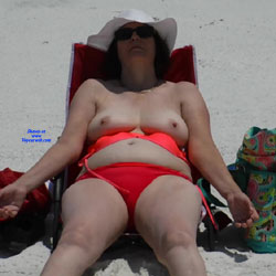Napping - Beach, Big Tits, Mature, Outdoors, Amateur