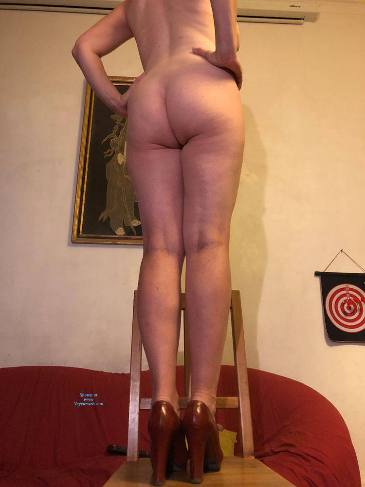Pic #1 Not Just A Milf - Nude Girls, Big Tits, Brunette, High Heels Amateurs, Bush Or Hairy