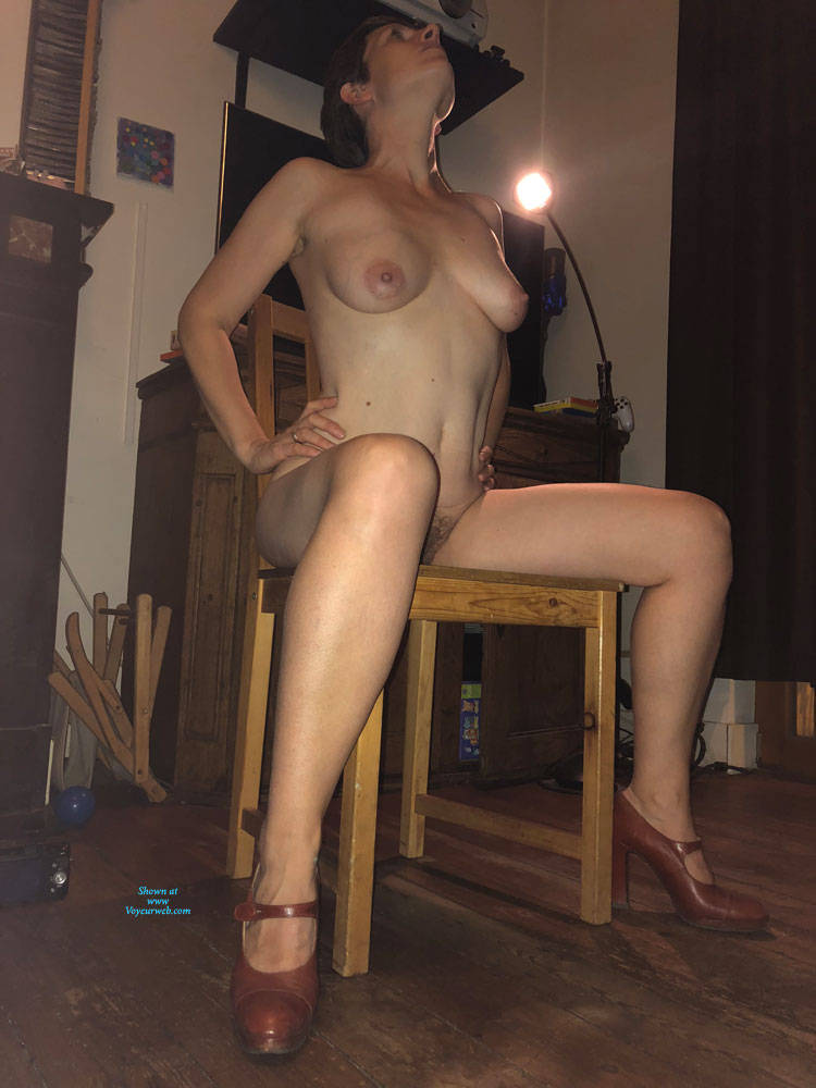 Pic #3 Not Just A Milf - Nude Girls, Big Tits, Brunette, High Heels Amateurs, Bush Or Hairy