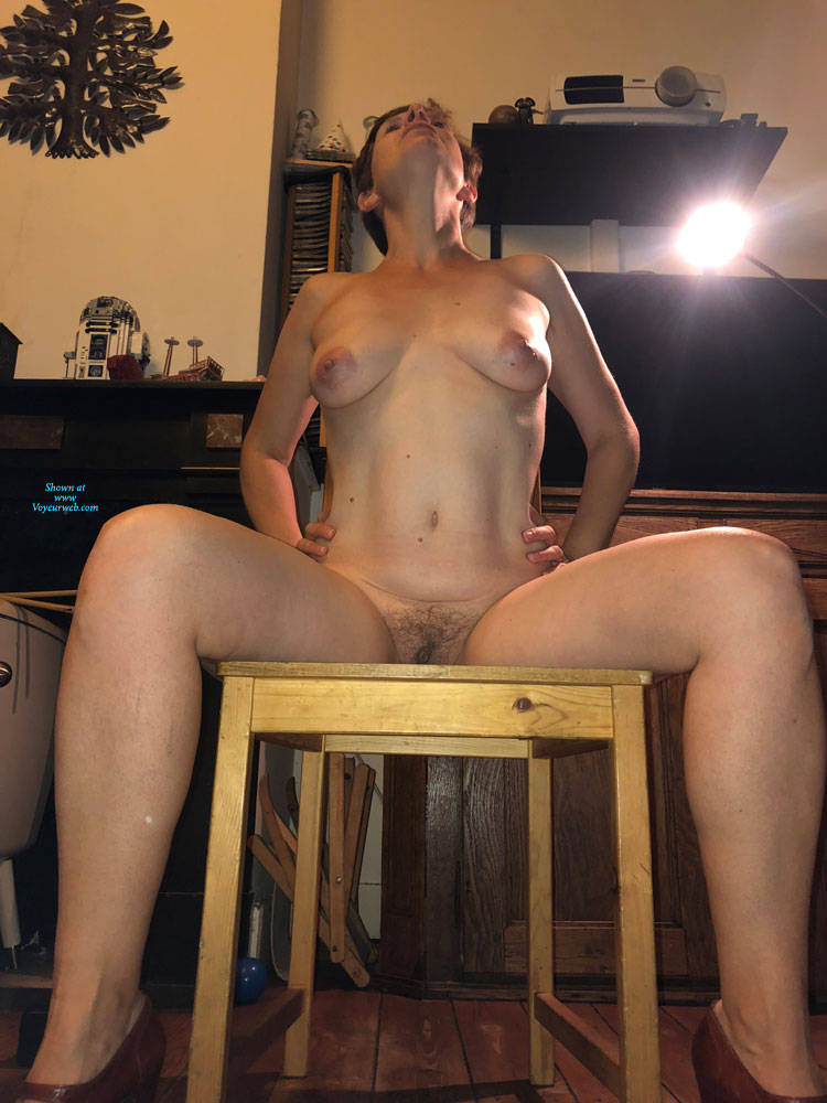 Pic #5 Not Just A Milf - Nude Girls, Big Tits, Brunette, High Heels Amateurs, Bush Or Hairy