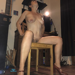 Not Just A Milf - Nude Girls, Big Tits, Brunette, High Heels Amateurs, Bush Or Hairy