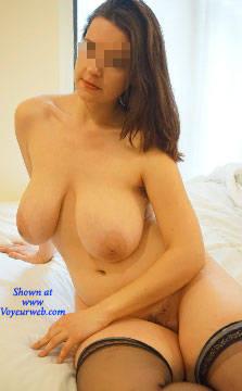 Pic #8 Dangerous Curves Ahead - Nude Girls, Big Tits, Brunette, Bush Or Hairy, Amateur