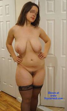 Pic #3 Dangerous Curves Ahead - Nude Girls, Big Tits, Brunette, Bush Or Hairy, Amateur