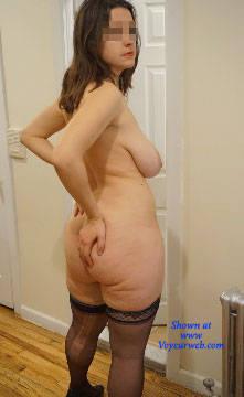 Pic #5 Dangerous Curves Ahead - Nude Girls, Big Tits, Brunette, Bush Or Hairy, Amateur
