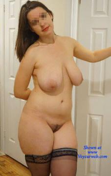 Pic #1 Dangerous Curves Ahead - Nude Girls, Big Tits, Brunette, Bush Or Hairy, Amateur