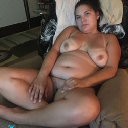 Big Tits And Fat Ass - Nude Girlfriends, Big Tits, Brunette, Shaved, Amateur