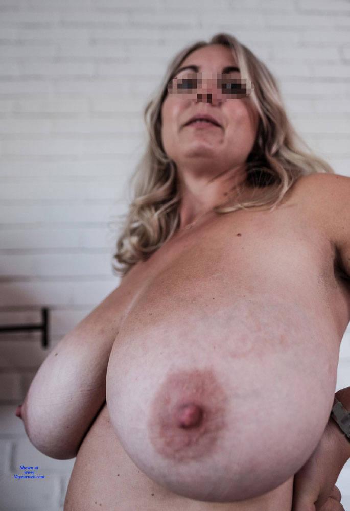Pic #2 Large Natural Hangers - Big Tits, Amateur, Natural Tits, Big Nipples