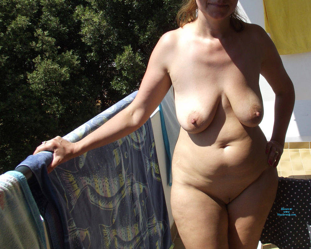 Pic #2 Beautiful Day - Nude Wives, Big Tits, Outdoors, Amateur, Shaved, Mature