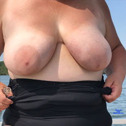 Day On The Boat - Big Tits, Mature, Outdoors, Amateur