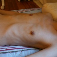 Very small tits of my wife - Katy Yoon