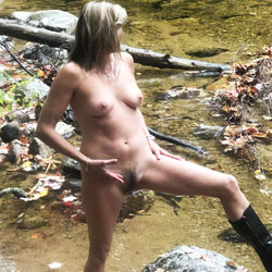 Walk In The Woods - Nude Wives, Big Tits, Mature, Outdoors, Nature, Amateur, Bush Or Hairy
