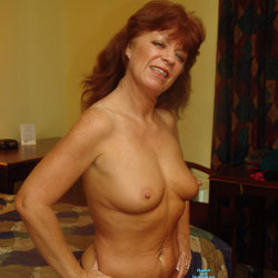 She Is A Hot Natural Redhead - Mature, Redhead, Amateur