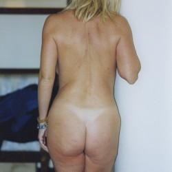 My ass - Blonde Milf